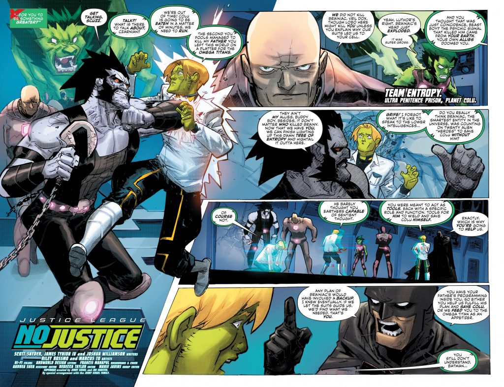 Justice League: No Justice Preview Page - DC Comics