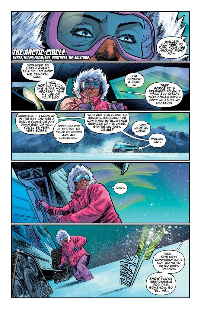Justice League: No Justice #2 Preview Page - DC Comics