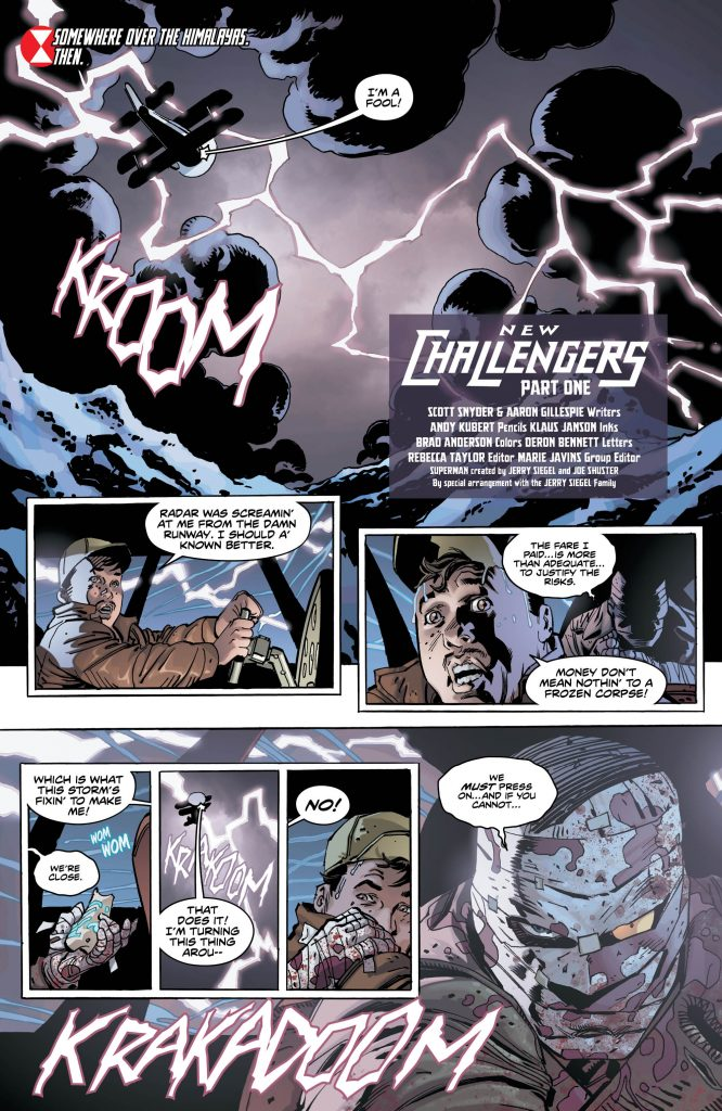 New Challengers #1 - Art by Andy Kubert - DC Comics