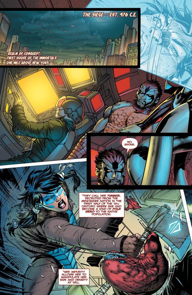 The Immortal Men #2 Preview Page - Art by Ryan Benjamin - DC Comics
