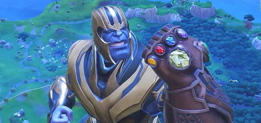 Thanos in Fortnite: Battle Royale - Epic Games
