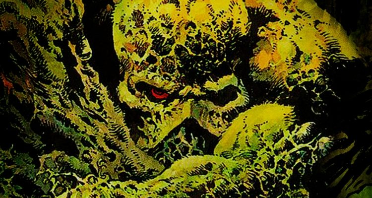 Swamp Thing Promotional Art - DC Comics