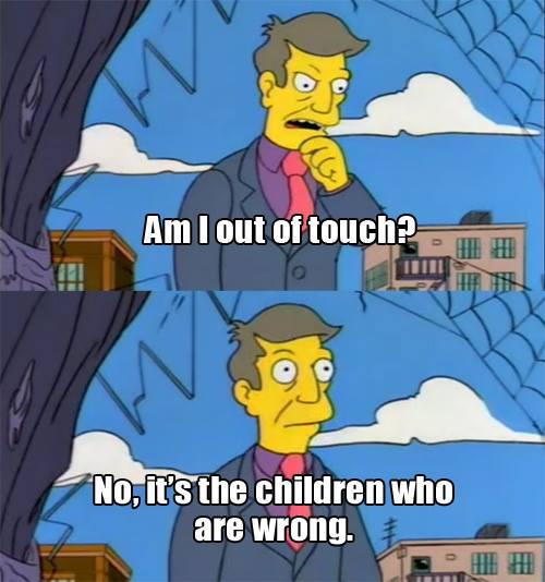 Skinner meme