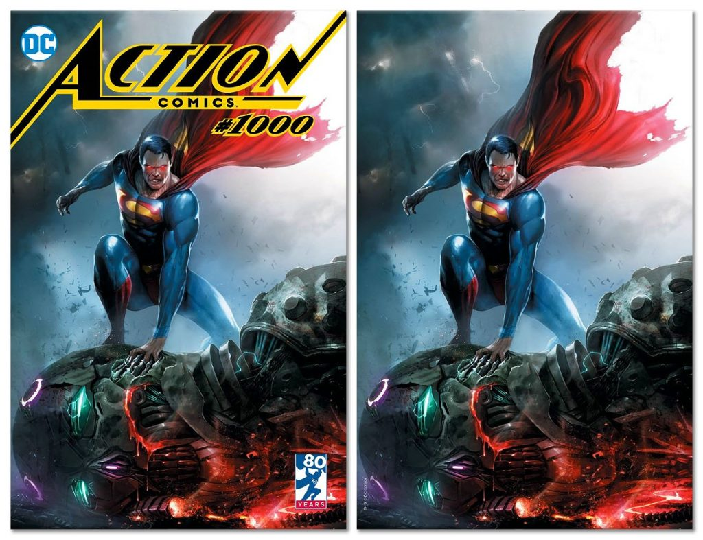 Action Comics #1000 Cover - DC Comics