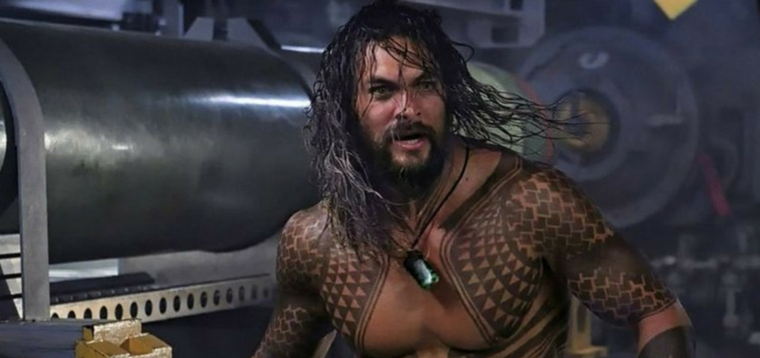 "Jason Momoa in ""Aquaman"" - Warner Bros."
