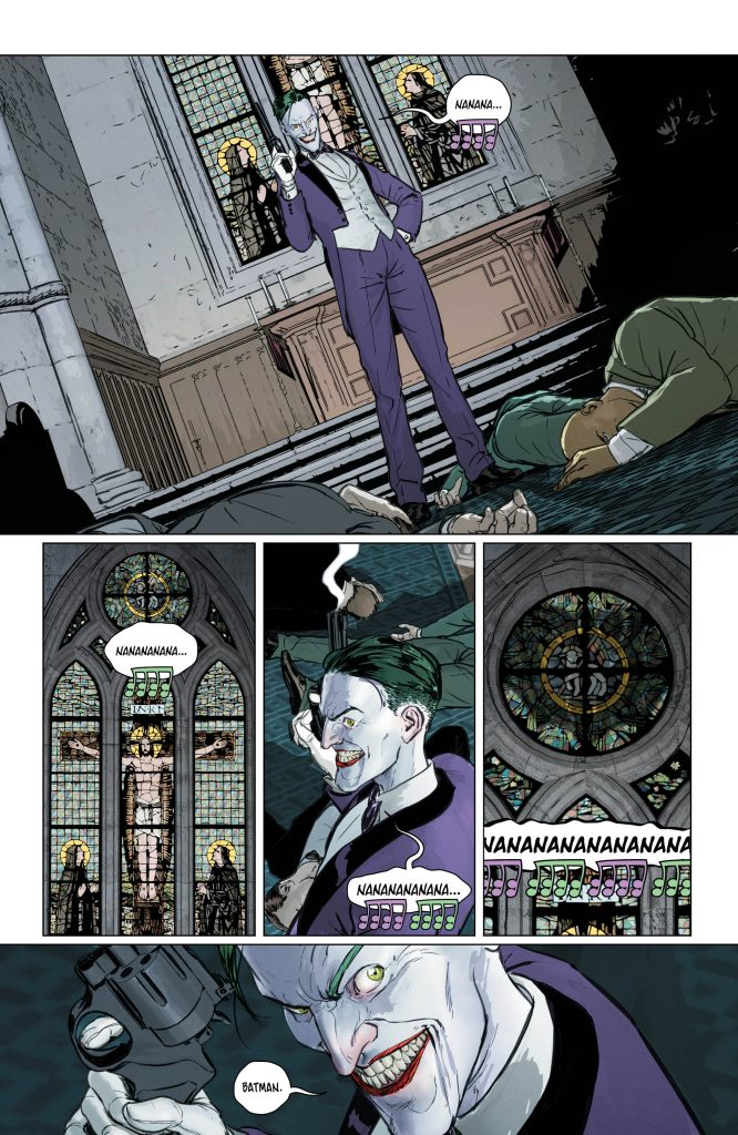Batman #48 Preview Page - Art by Mikel Janin - DC Comics