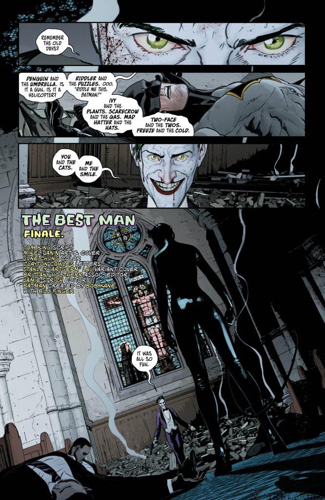 Batman #49 Preview Page - Art by Mikel Janin - DC Comics