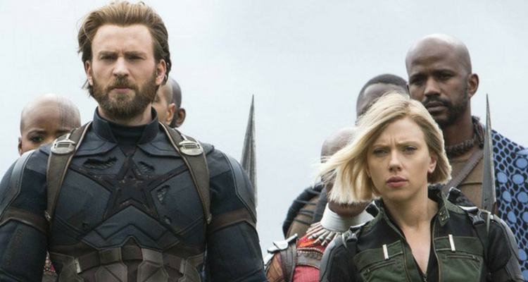 Captain America and Black Widow