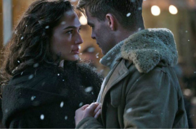 Steve Trevor and Wonder Woman - Warner Bros.