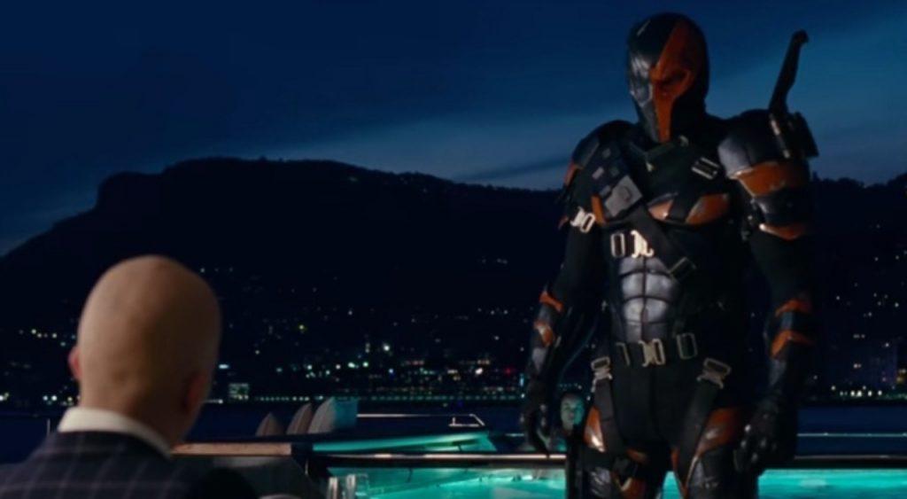 "Deathstroke in ""Justice League"" - Warner Bros."