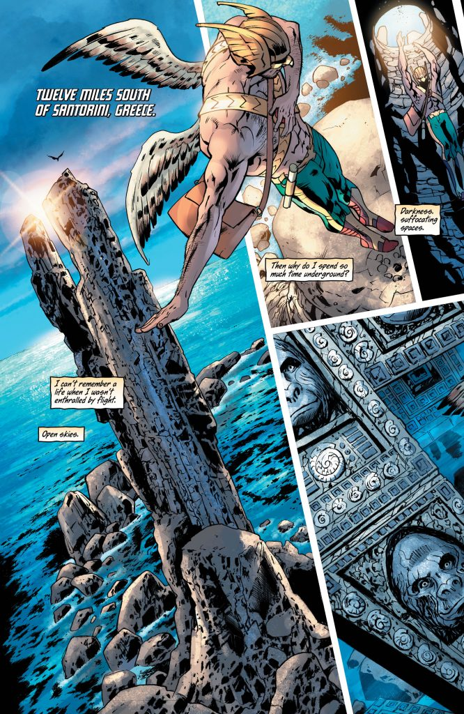 Hawkman #1 Preview Page - DC Comics