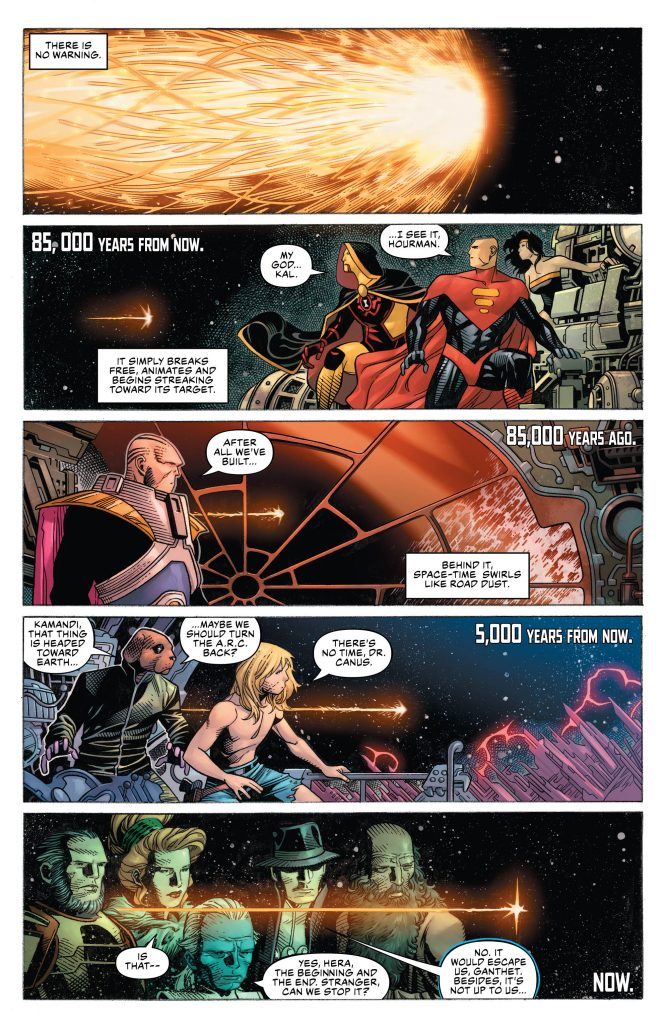 Justice League #1 Preview Page - DC Comics