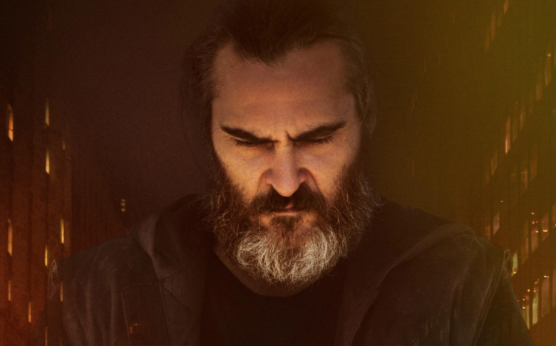 "Joaquin Phoenix in ""You Were Never Really Here"""