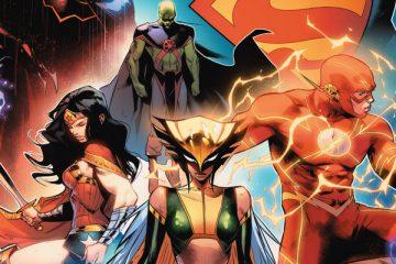 Justice League #2 Cover - Art by Jorge Jimenez - DC Comics