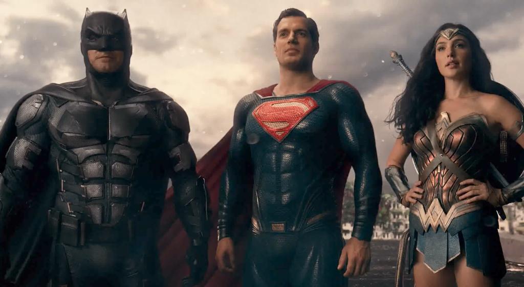 """Justice League """"Trinity"""" - Warner Bros."""