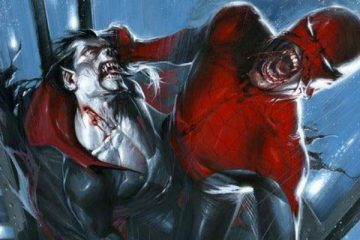 Morbius and Spider-Man by Alex Ross - Marvel Comics
