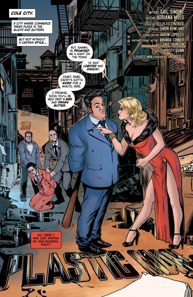 Plastic Man #1 Preview Page - DC Comics