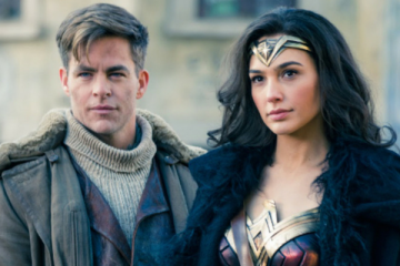 Steve Trevor and Wonder Woman