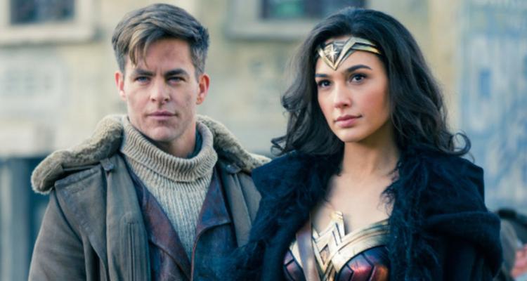 Steve Trevor and Wonder Woman