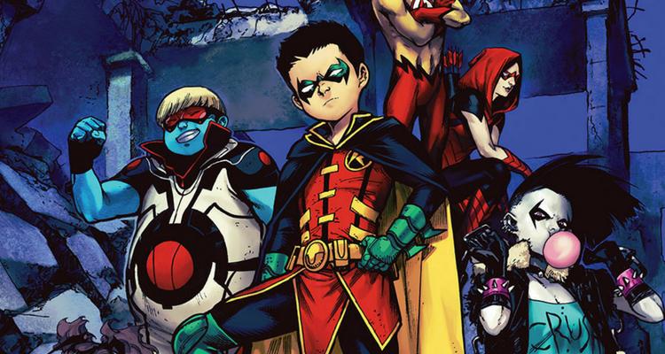 Dc Comics Introduces Their New Teen Titans Lineup -7063
