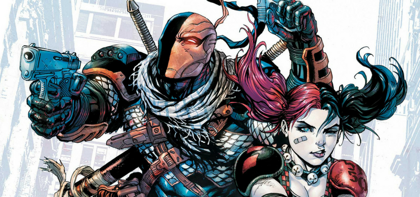 Deathstroke and Harley Quinn - DC Comics
