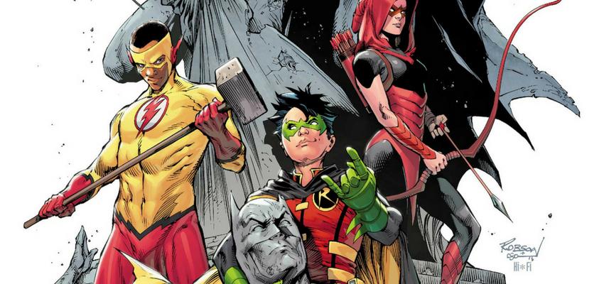 Teen Titans Special #1 Cover - DC Comics