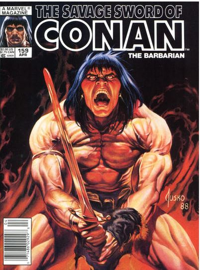 Savage Sword of Conan #159