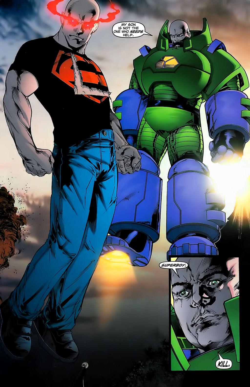Lex Luthor and Superboy