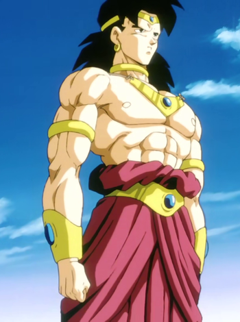 "Broly in ""Dragon Ball Z"" - Toei Animation"