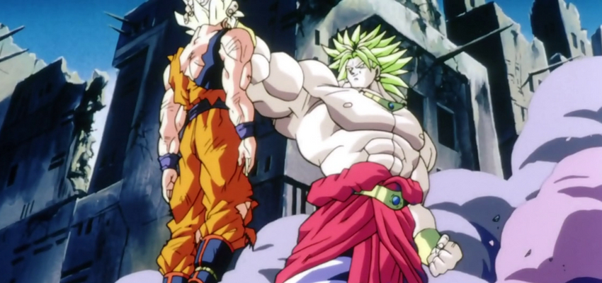 Broly S New Design For Dragon Ball Super Broly Revealed Bounding
