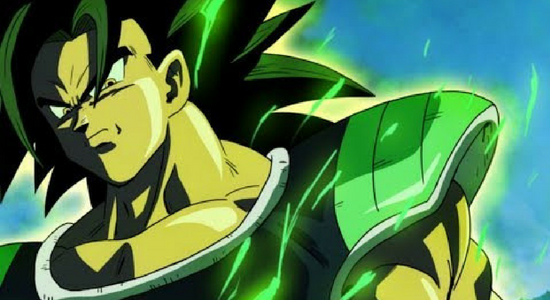 "Broly in ""Dragon Ball Super: Broly"" - Toei Animation"