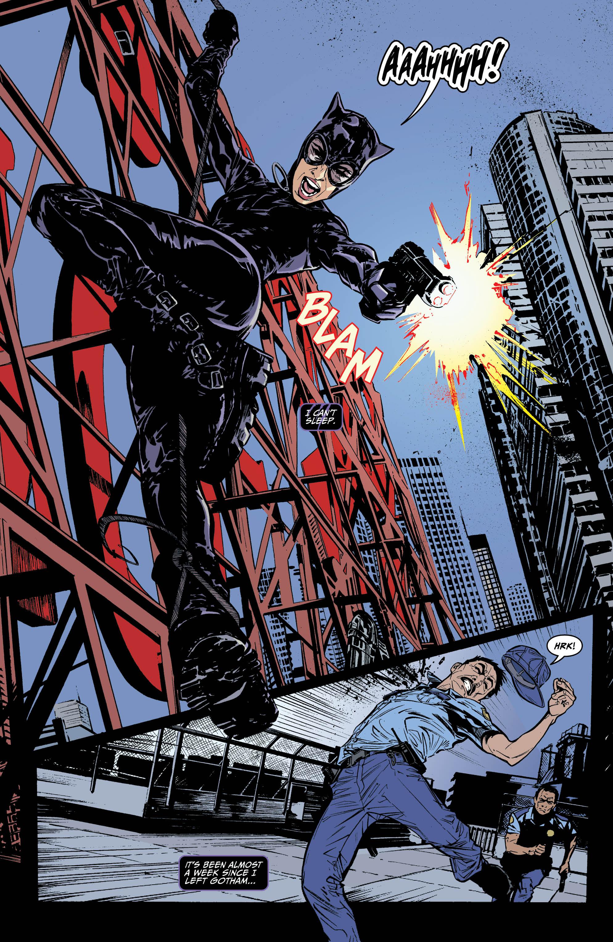 Comic Book Review: Catwoman #1 - Bounding Into Comics