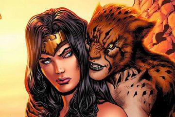 Cheetah and Wonder Woman - DC Comics