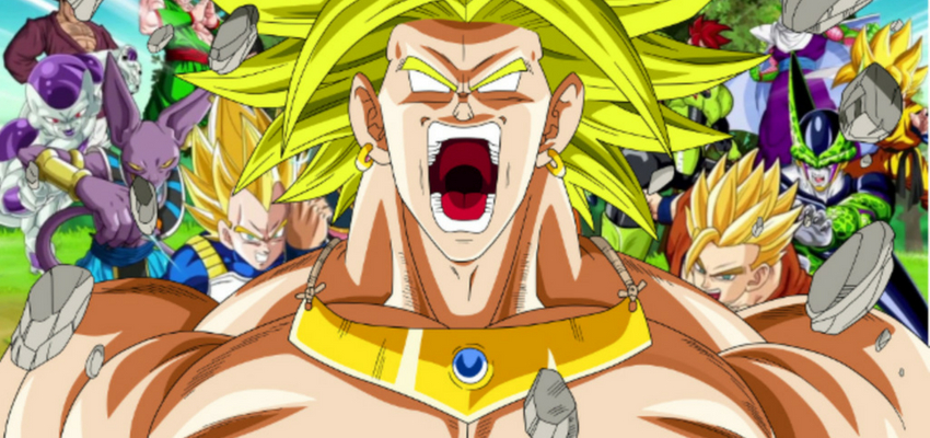 "Broly in ""Dragon Ball"" - Toei Animation"