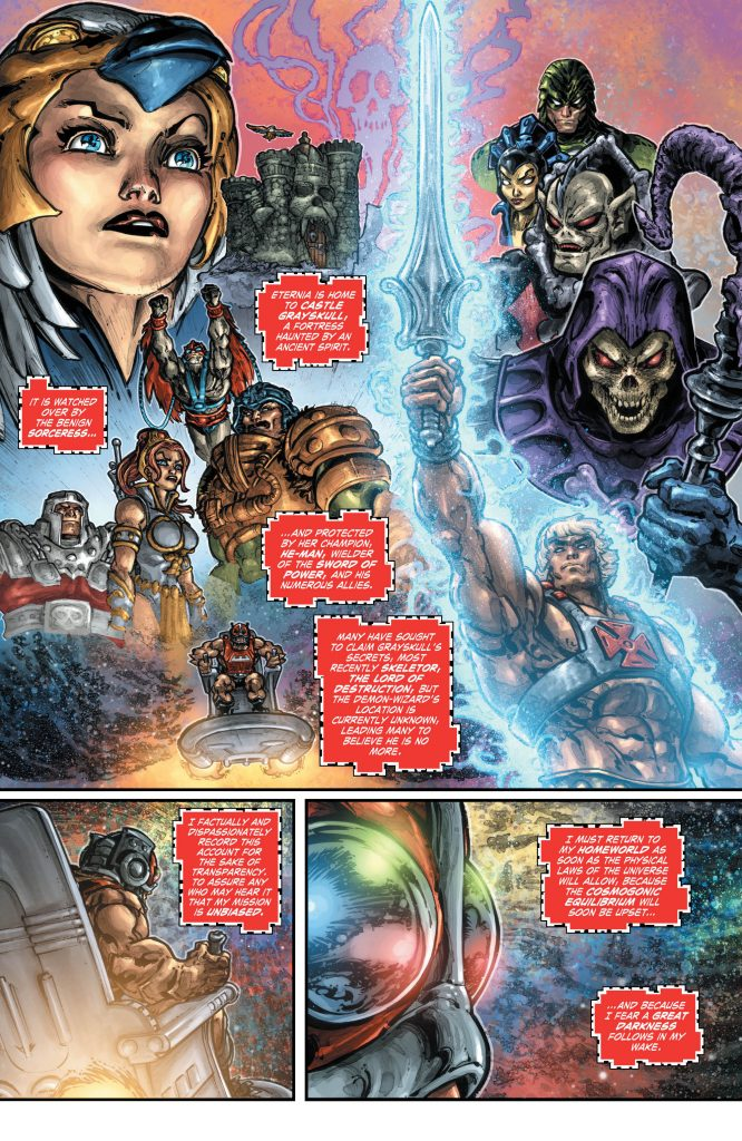 Injustice vs. Masters of the Universe #1 Preview Page - DC Comics