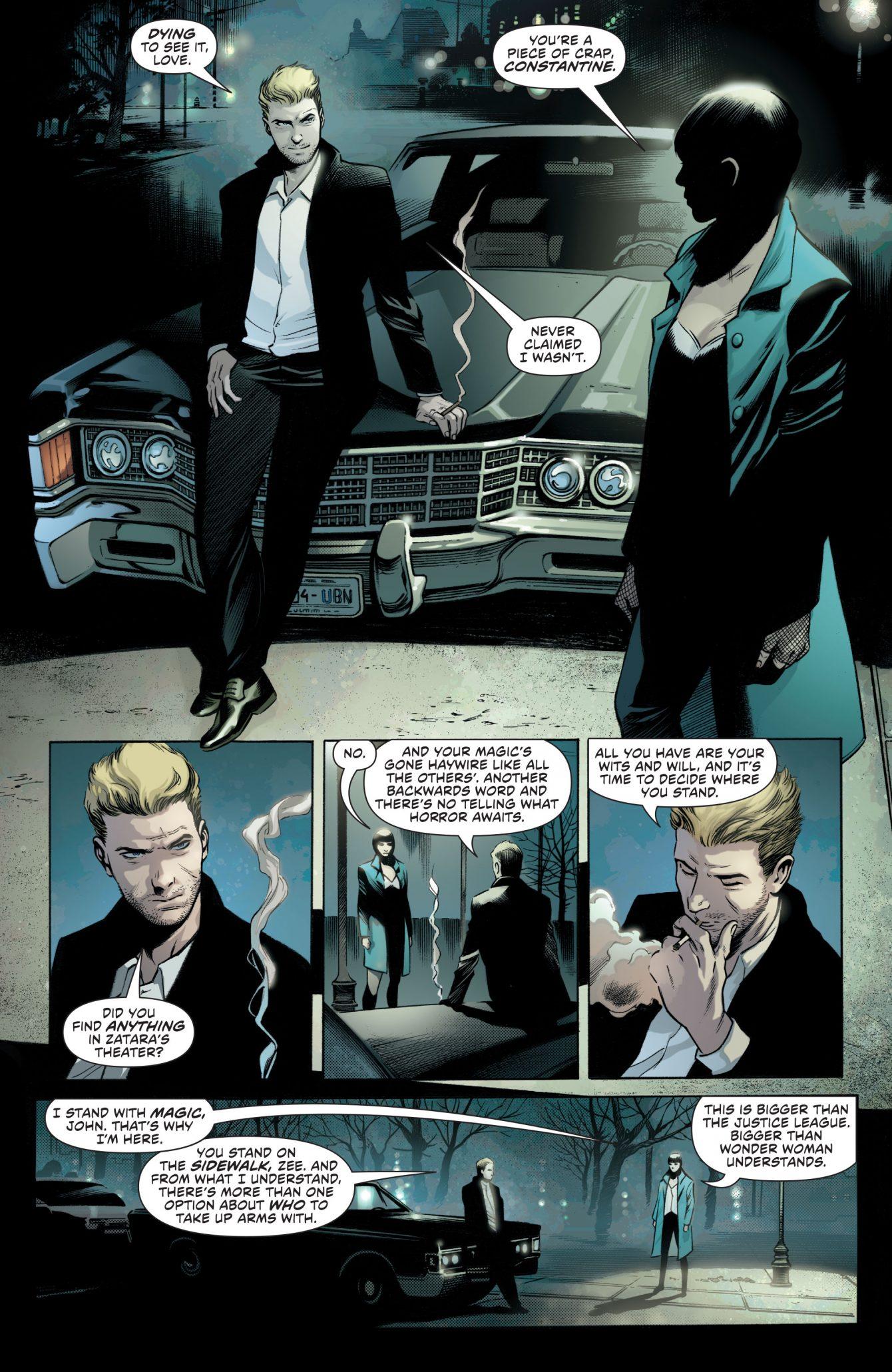 Justice League Dark #1 Preview Page - DC Comics
