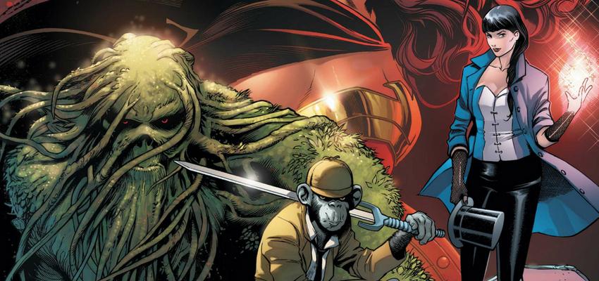 Justice League Dark #1 Cover - DC Comics