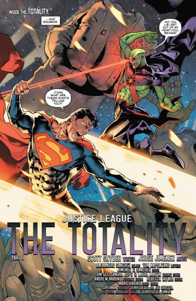 Justice League #4 Preview Page - DC Comics