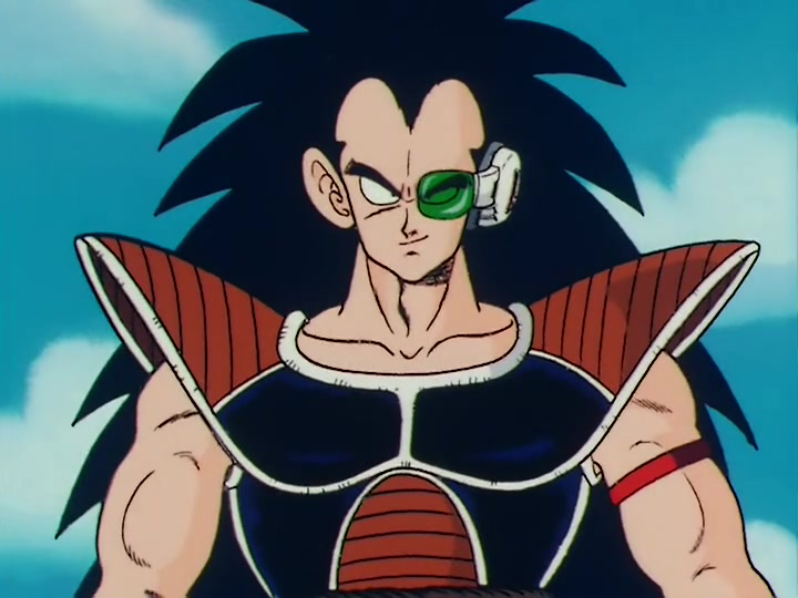 "Raditz in ""Dragon Ball Z"" - Toei Animation"