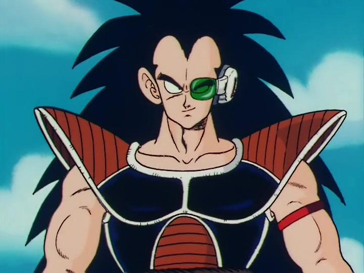 "Raditz in ""Dragon Ball Z"" - Toei Animation"