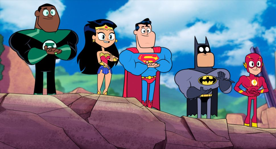 "Justice League in ""Teen Titans Go! To The Movies"" - Warner Bros. Animation"