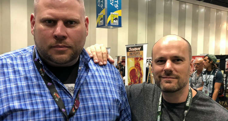 Tom King and Bodyguard Dave
