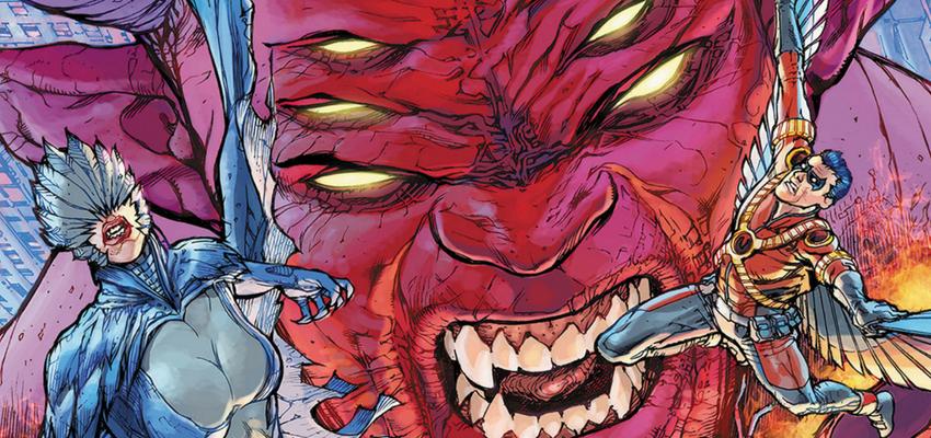 Trigon Art - DC Comics