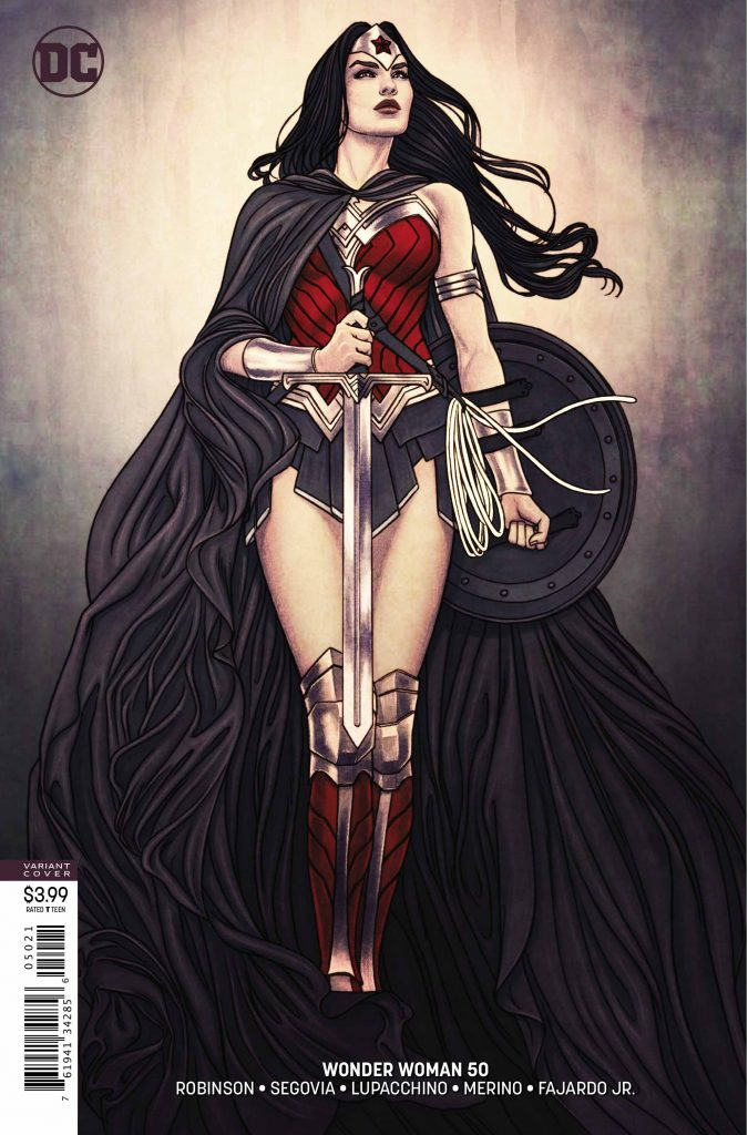 Wonder Woman #50 Variant Cover - DC Comics