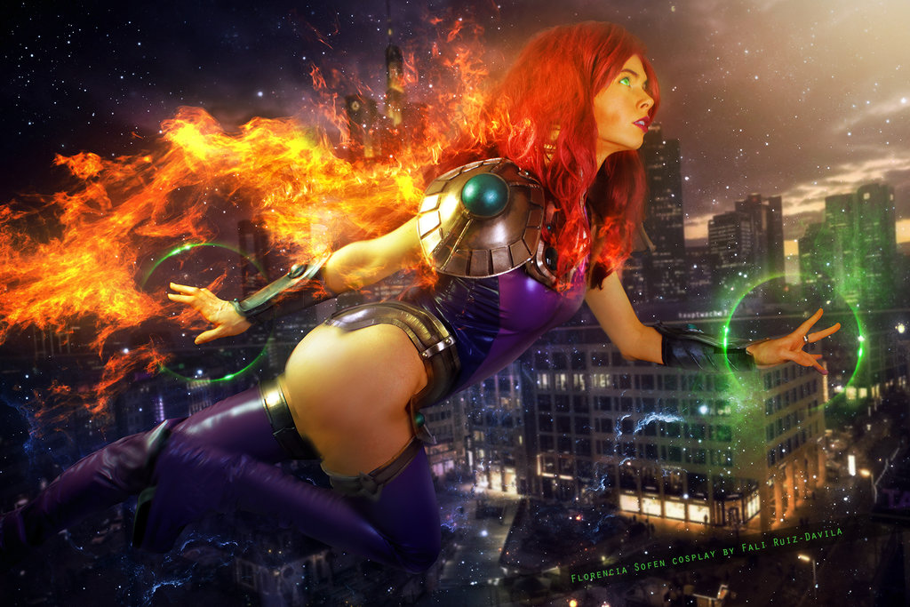 21 Starfire Cosplays That Look A Thousand Times Better Than The Titans Live-Action -2807
