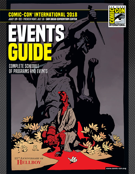 Comic-Con International Events Guide Cover