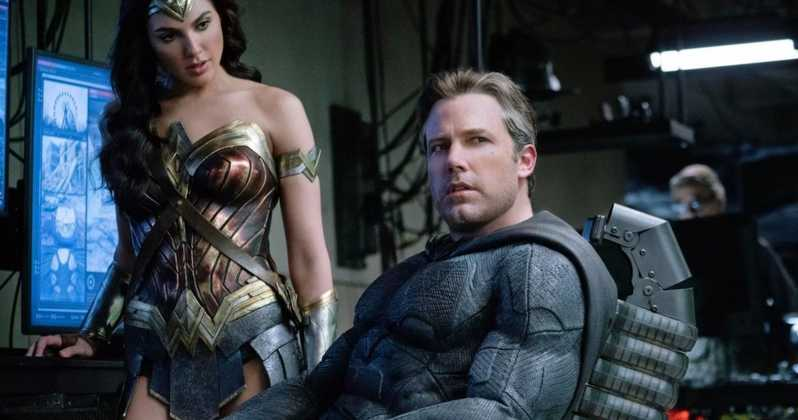 "Ben Affleck and Gal Gadot in ""Justice League"" - Warner Bros."