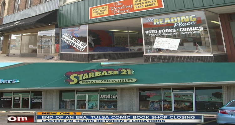 comic book stores closing