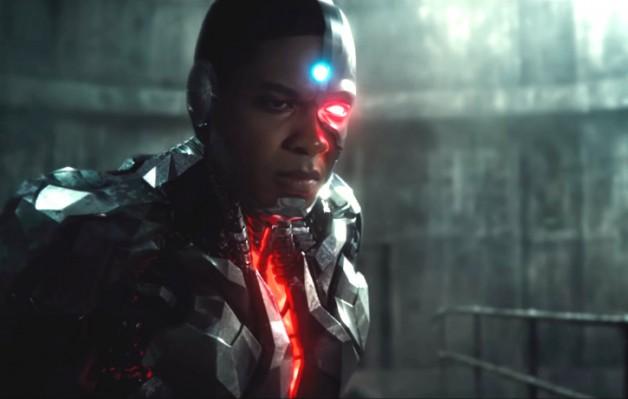 """Cyborg in """"Justice League"""" - Warner Bros."""