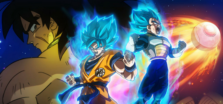 Dragon Ball Super: Broly Poster - Toei Animation
